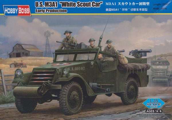 "HobbyBoss 1/35 U.S. M3A1 ""White Scout Car"" 