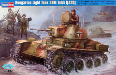 HobbyBoss 1/35 Hungarian Light Tank 38M Toldi I (A20) | 82477