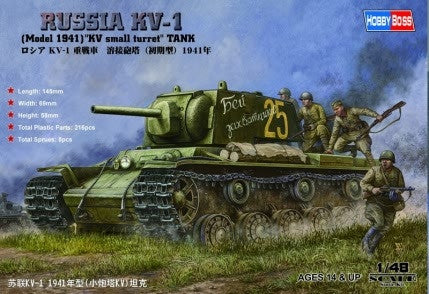 Hobbyboss 1/48 KV-1 Model '41 Russian Tank | 84810