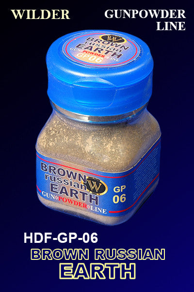 Wilder BROWN RUSSIAN EARTH 50 ml | HDF-GP-06