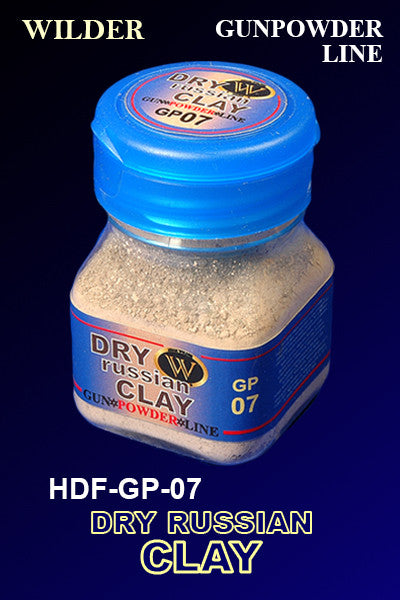Wilder DRY RUSSIAN CLAY 50 ml | HDF-GP-07