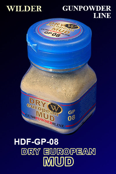 Wilder DRY EUROPEAN MUD 50 ml | HDF-GP-08
