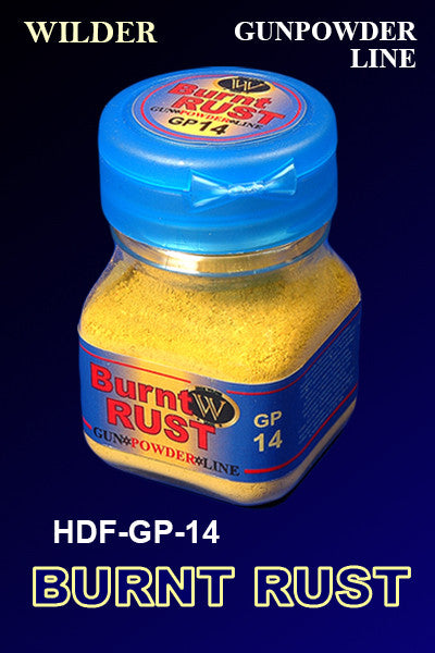 Wilder BURNT RUST 50 ml | HDF-GP-14