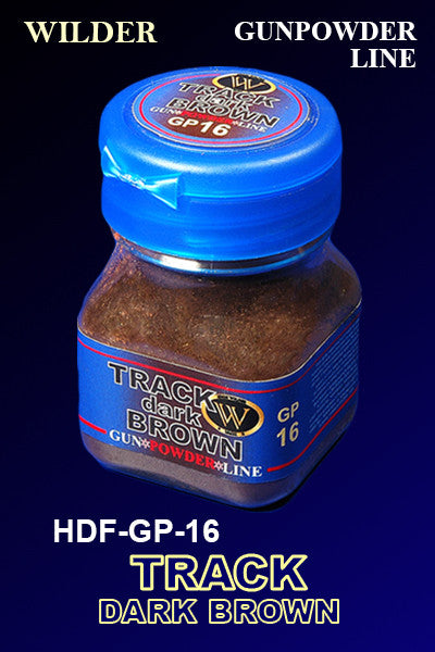 Wilder TRACK DARK BROWN 50 ml | HDF-GP-16