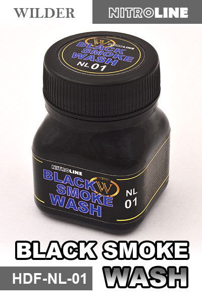 Wilder Black Smoke Wash 50ml | HDF-NL-01