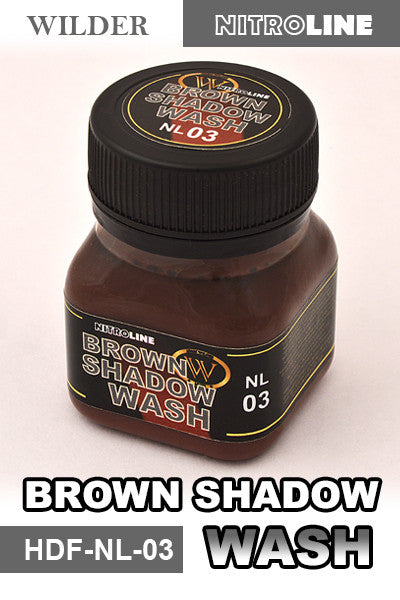 Wilder Brown Shadow Wash 50ml | HDF-NL-03