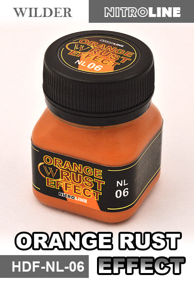 Wilder ORANGE RUST EFFECT 50 ml | HDF-NL-06