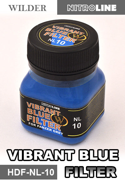 Wilder VIBRANT BLUE FILTER 50 ml | HDF-NL-10