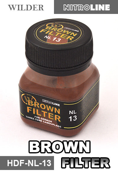 Wilder BROWN FILTER 50 ml | HDF-NL-13