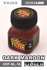 Wilder DARK MAROON FILTER 50 ml | HDF-NL-16