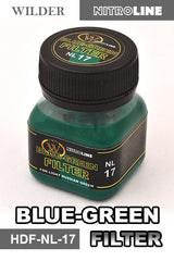 Wilder BLUE-GREEN FILTER 50 ml | HDF-NL-17