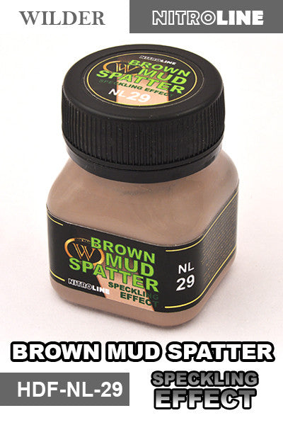 Wilder BROWN MUD SPATTER SPECKLING EFFECT 50 ml | HDF-NL-29