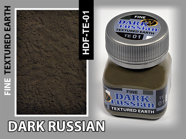 Wilder DARK RUSSIAN FINE TEXTURED EARTH 50 ml | HDF-TE-01