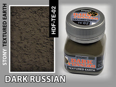 Wilder DARK RUSSIAN STONY TEXTURED EARTH 50 ml | HDF-TE-02