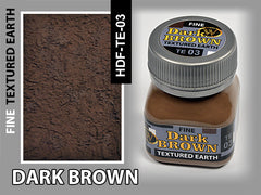 Wilder DARK BROWN FINE TEXTURED EARTH 50 ml | HDF-TE-03