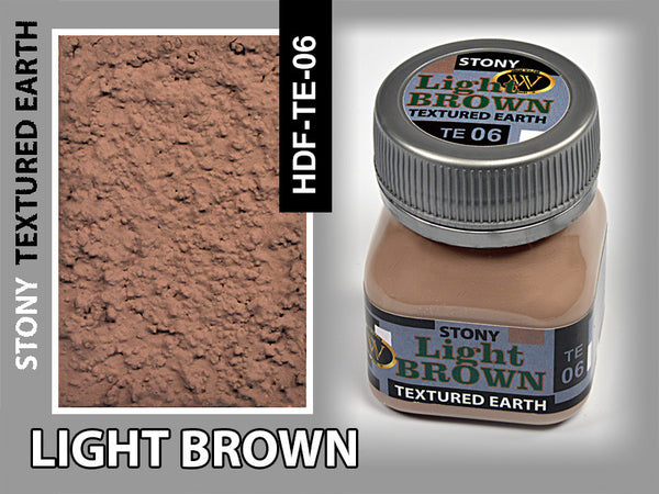 Wilder LIGHT BROWN STONY TEXTURED EARTH 50 ml | HDF-TE-06
