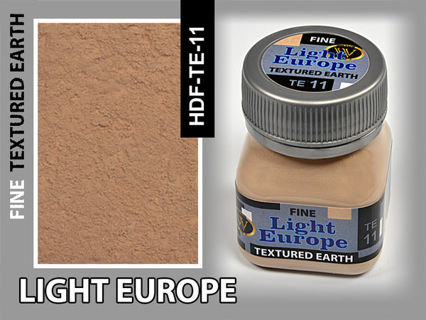Wilder LIGHT EUROPE FINE TEXTURED EARTH 50 ml | HDF-TE-11