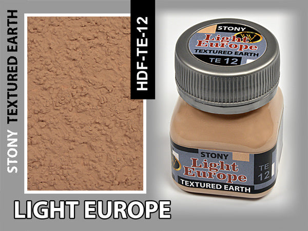 Wilder LIGHT EUROPE STONY TEXTURED EARTH 50 ml | HDF-TE-12