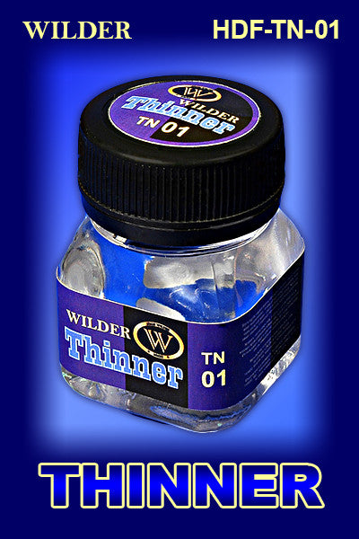 Wilder THINNER for Enamels and Oil Paints 50 ml | HDF-TN-01