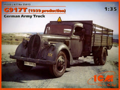 ICM 1/35 G917T (1939 Production) German Army Truck | 35413