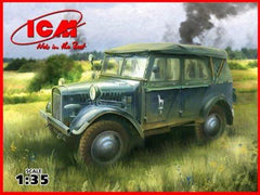ICM 1/35 le.gl.Einheits-Pkw (Kfz. 1) WWII German Personnel Car | 35521