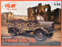 ICM 1/35 L1500A (Kfz.70) WWII German Personnel Car | 35525