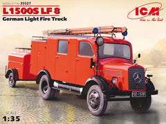ICM 1/35 Postwar German 1.5ton Light Fire Truck L1500S LF8 | 35527