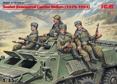 ICM 1/35 Soviet Armoured Carrier Riders (1979-1991) |  35637