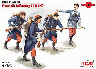 ICM 1/35 French Infantry (1914) |  35682