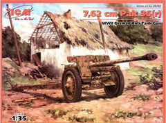 ICM 1/35 7,62cm Pak 36(r) WWII German Anti Tank Gun |  35701