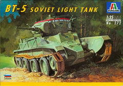 Italeri 1/35 BT-5 Soviet Light Tank  | 272