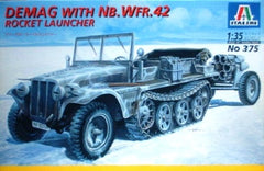 Italeri 1/35 Demag with Nb.Wfr. 42 Rocket Launcher | 375