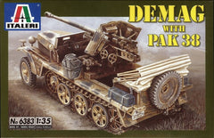 Italeri 1/35 Demag with PaK 38 | 6383