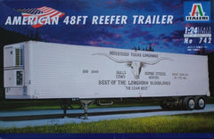 Italeri 1/24 American 48 FT Reefer Trailer | 742