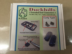 Kaizen 1/35 Sherman Track Duck Bills CURLY | Kz-DB-C