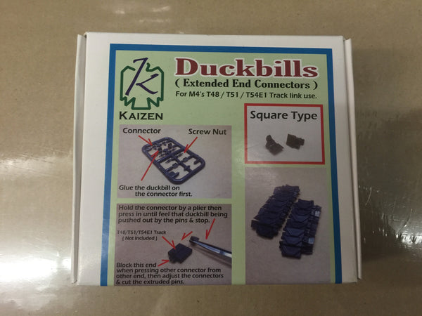 Kaizen 1/35 Sherman Track Duck Bills SQUARE | Kz-DB-S