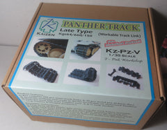 Kaizen 1/35 Panther Track Late Type Kgs64/660/150 Workable Track Link Set