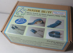 Kaizen 1/35 Panzer III/IV Mid Ver. 1941-1944 40cm Track w/Slots (kgs61/400/120) Workable Links