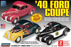 Lindberg 1/25 1940 Ford Coupe 3 in 1 | LIN72159