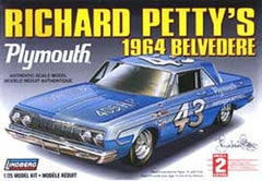 Lindberg 1/25 Richard Petty's 1964 Plymouth Belvedere | LIN72164