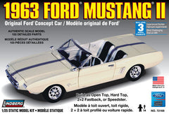 Lindberg 1/25 1963 Ford Mustang II Concept | LIN72169