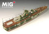 Mig Productions 1/72 Russian Bronekater BK 1125 Resin Ship Model | 72098