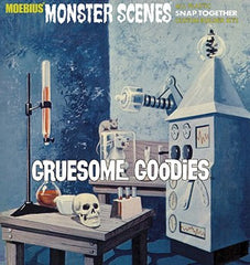 MOEBIUS 1/13 Monster Scenes: Gruesome Goodies Snap Kit | MOE634