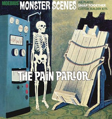 MOEBIUS 1/13 Monster Scenes: The Pain Parlor Snap Kit | MOE635