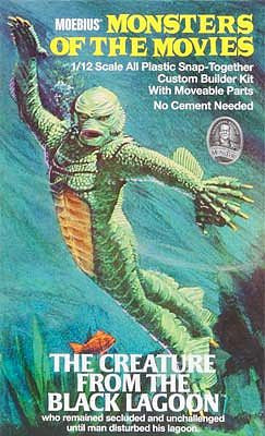 MOEBIUS 1/12 Monsters of the Movies Creature from the Black Lagoon | MOE653