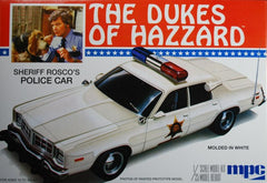 MPC 1/25 The Dukes of Hazzard Sheriff Rosco´s Dodge Monaco Police Car | 707