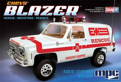 MPC 1/25 1976 Chevy Blazer-Rescue | MPC797/12