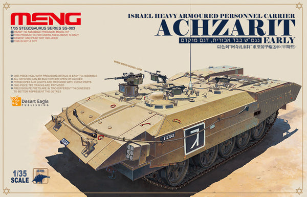 Meng 1/35 Israel Heavy Armoured Personnel Carrier Achzarit Early | SS003