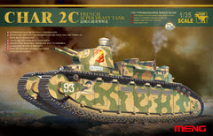 Meng 1/35 French Super Heavy Tank Char 2C | TS009
