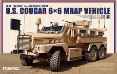 Meng 1/35 US Cougar 6x6 MRAP Vehicle | SS005